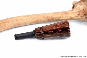Bite Reed Cow Elk Call - Black Palm - CEBR